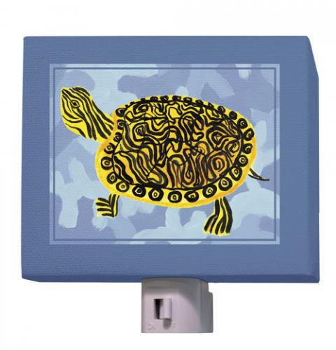 Blue Camo Cooter Turtle Nightlight by Oopsy daisy