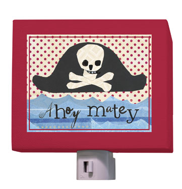 Pirate Hat Nightlight by Oopsy daisy
