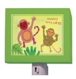 Monkey Mayhem Nightlight by Oopsy daisy