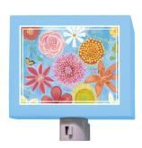 Exotic Flowers Nightlight by Oopsy daisy