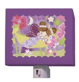 Slumbering Fairy Brunette Nightlight by Oopsy daisy