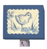 Blue Toile Chickie Nightlight by Oopsy daisy