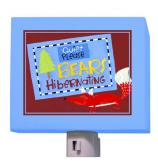 Who's Hibernating Nightlight by Oopsy daisy