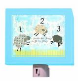 Counting Sheep Nightlight by Oopsy daisy
