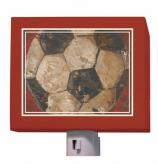 Vintage Soccer Ball Nightlight by Oopsy daisy