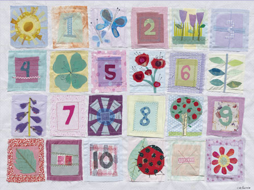 Counting Flowers by Oopsy daisy