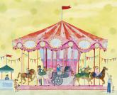 Carousel by Oopsy daisy