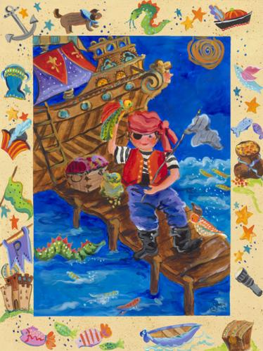 Pirate Adventurer by Oopsy daisy