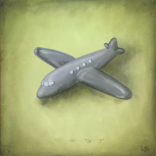 Boy's Toys, Airplane by Oopsy daisy