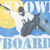 Extreme Sports - Snowboard by Oopsy daisy