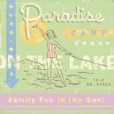 Water Ski Paradise Camp by Oopsy daisy