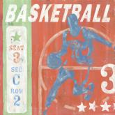 Basketball Game Ticket by Oopsy daisy