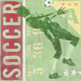 Soccer Game Ticket by Oopsy daisy