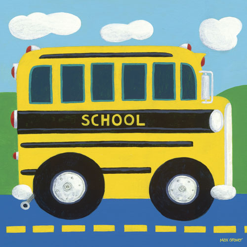 School Bus by Oopsy daisy