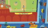 Personalized Stadium Scene by Oopsy daisy