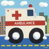 Ambulance by Oopsy daisy
