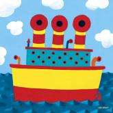 Tugboat by Oopsy daisy
