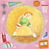 Basketball Star - Girl by Oopsy daisy