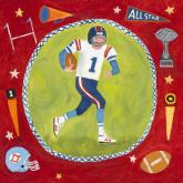 Football Star - Boy by Oopsy daisy