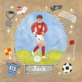 Personalized Soccer Star - Boy by Oopsy daisy