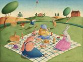 Animal Picnic by Oopsy daisy