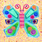 Jewel Butterfly by Oopsy daisy