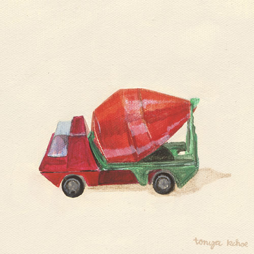 Cement Mixer by Oopsy daisy