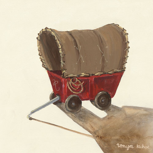 Covered Wagon by Oopsy daisy