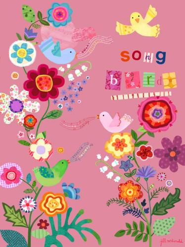 Song Birds by Oopsy daisy