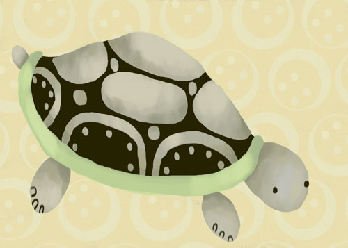 Tennyson the Turtle by Oopsy daisy
