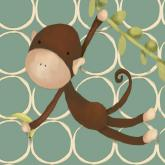 Hanging Monkey by Oopsy daisy
