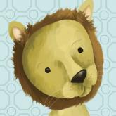Rauri the Lion, Powder Blue by Oopsy daisy
