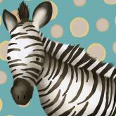 Timmy the Zebra by Oopsy daisy