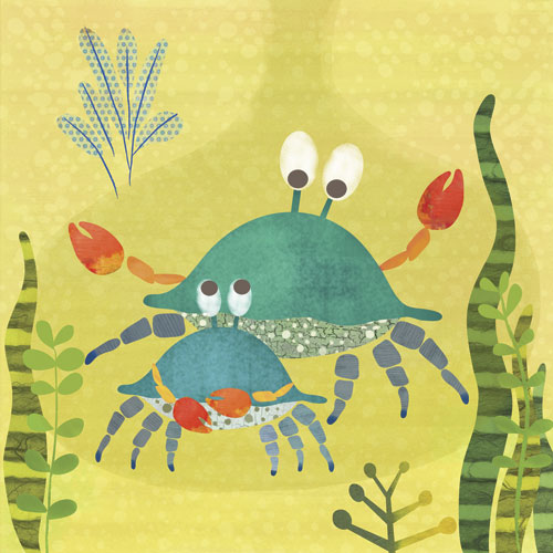 Crab Pals by Oopsy daisy