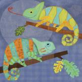 Chameleon Pals by Oopsy daisy