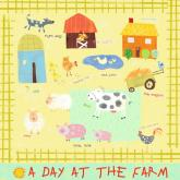A Day at the Farm by Oopsy daisy
