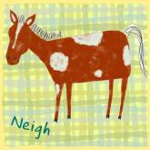 Horse Says Neigh by Oopsy daisy