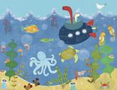 Underwater Submarine by Oopsy daisy