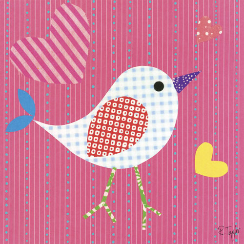 Mod Chick on Hot Pink by Oopsy daisy