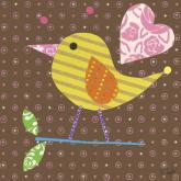 Mod Chick on Chocolate by Oopsy daisy