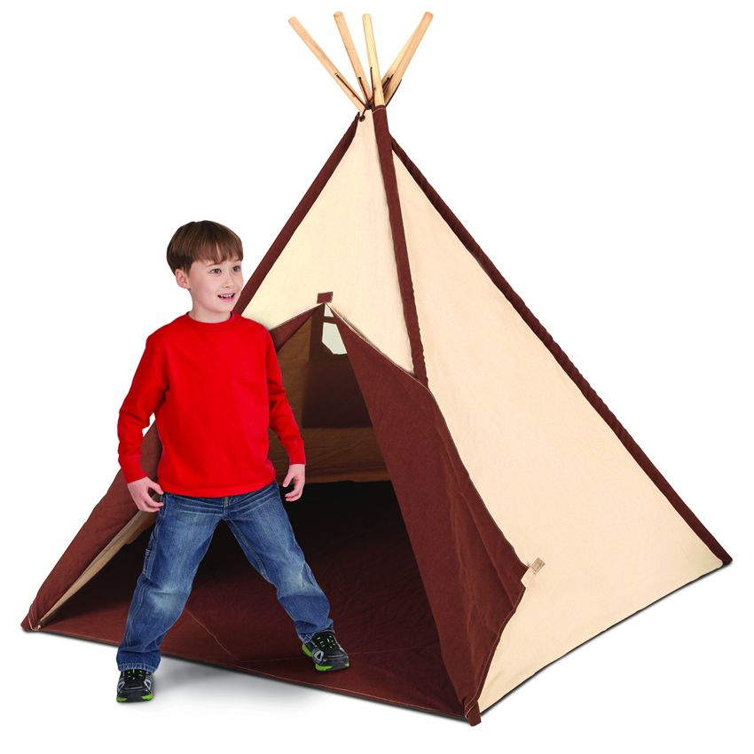 Cotton Canvas Tee Pee 6 Ft Thumbnail 1