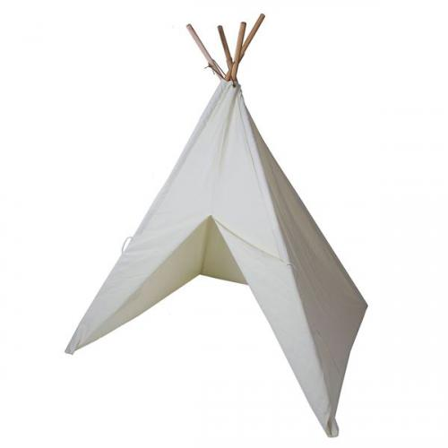 Cotton Canvas Painting Teepee with Paint Set