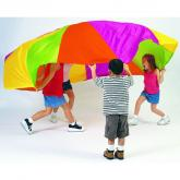 Playchute Parachute - 10ft- Rainbow