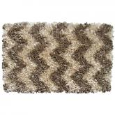 Shaggy Raggy Natural Chevrn Rug