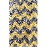 Shaggy Raggy Yellow / Gray Chevy Rug