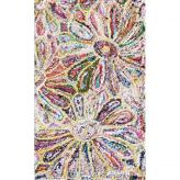 Anthro Flower Rug