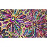 Anthro Flower Bright Rug