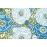 Dandelion Blue Indoor-Outdoor Rug