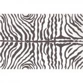 Zebra Gray Indoor-Outdoor Rug