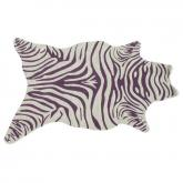Zebra Vineyard Shaped Indoor-Outdoor Rug